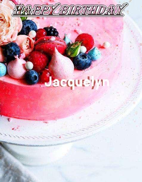 Happy Birthday Jacquelyn