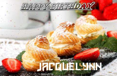 Happy Birthday Jacquelynn Cake Image