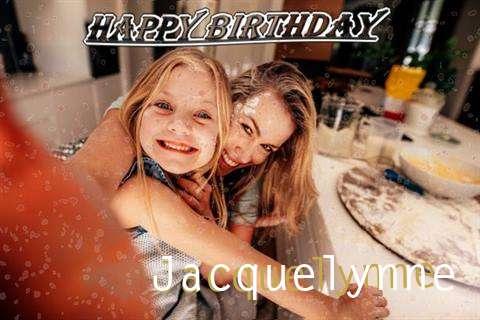 Happy Birthday Jacquelynne