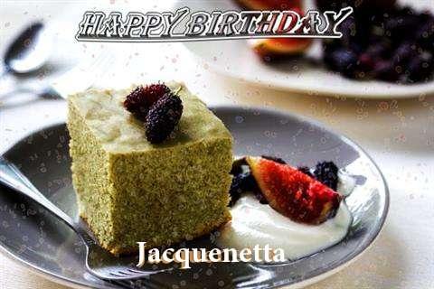 Happy Birthday Jacquenetta Cake Image