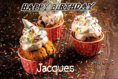 Happy Birthday Jacques Cake Image