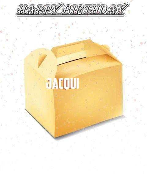 Happy Birthday Jacqui
