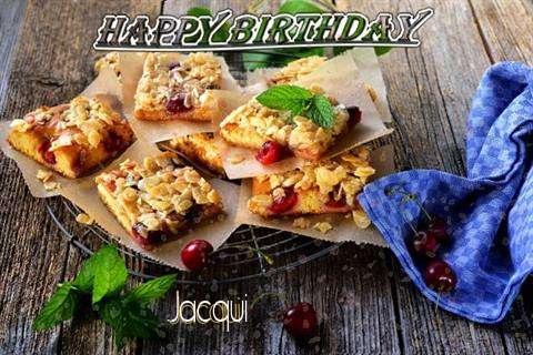 Happy Birthday Cake for Jacqui