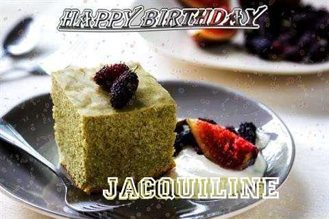 Happy Birthday Jacquiline Cake Image