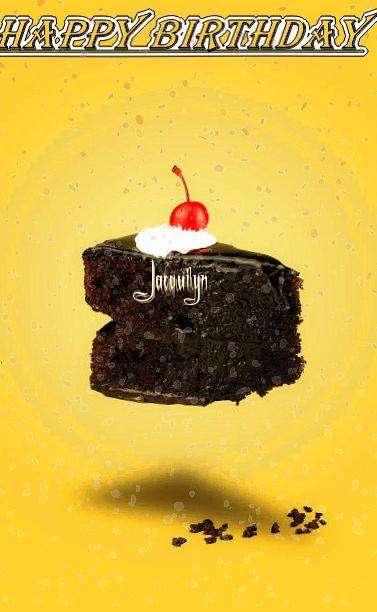 Happy Birthday Jacquilyn