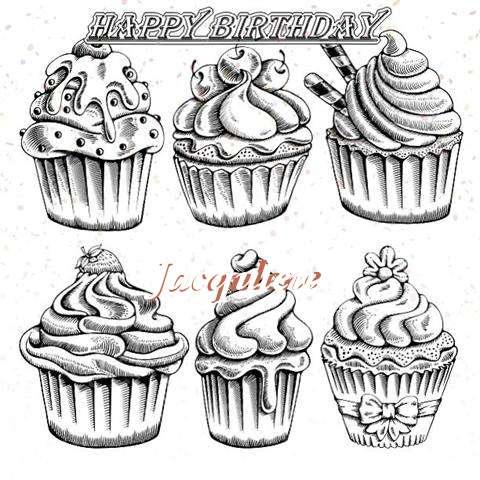 Happy Birthday Cake for Jacqulene