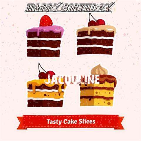 Happy Birthday Jacquline Cake Image