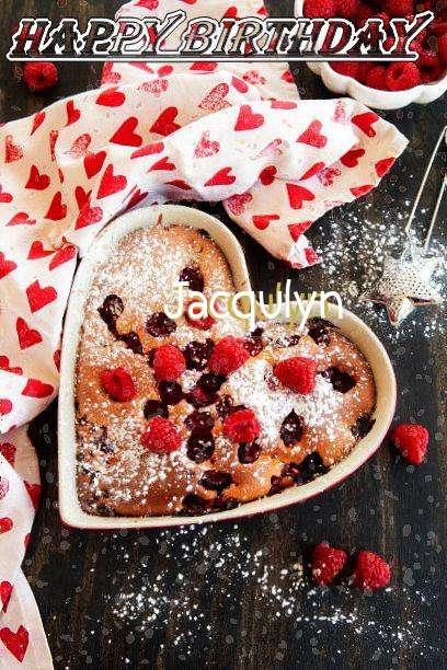 Happy Birthday Jacqulyn Cake Image