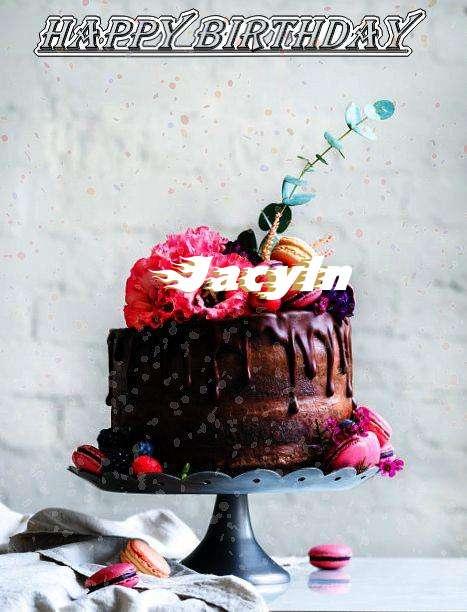 Happy Birthday Jacyln Cake Image