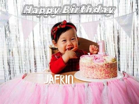 Happy Birthday Jafrin