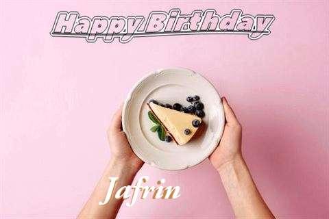 Jafrin Birthday Celebration