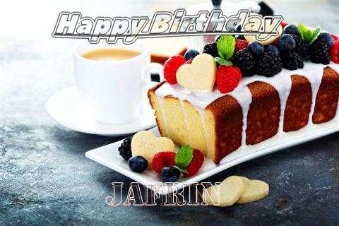 Happy Birthday to You Jafrin