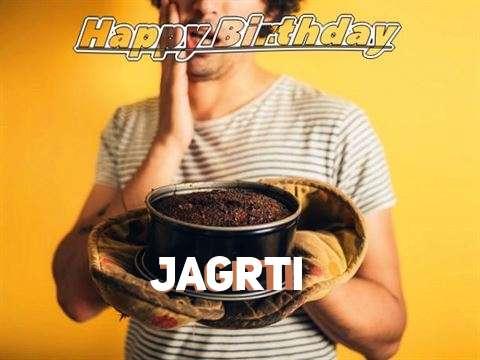 Happy Birthday Jagrti Cake Image