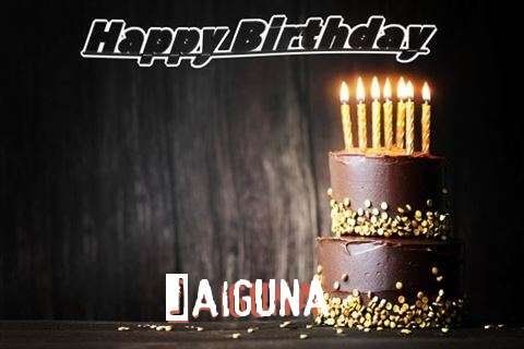 Happy Birthday Cake for Jaiguna