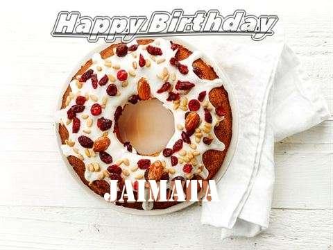Happy Birthday Cake for Jaimata