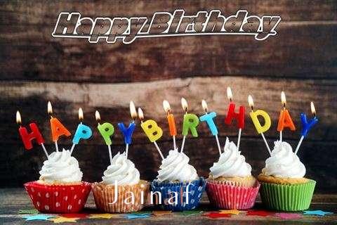 Happy Birthday Jainaf Cake Image