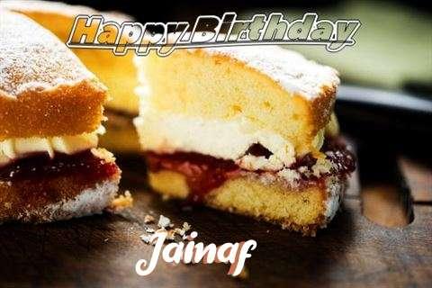 Happy Birthday Cake for Jainaf