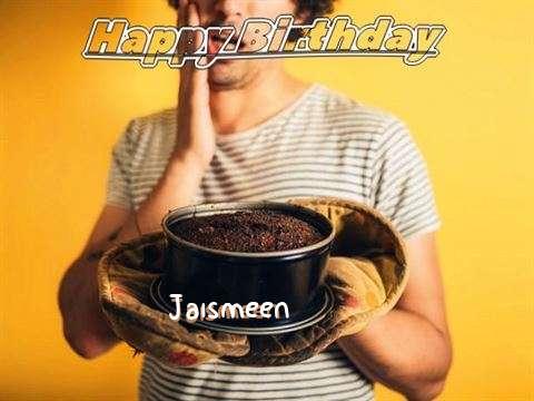 Happy Birthday Jaismeen Cake Image