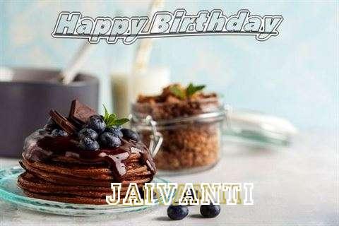 Happy Birthday Jaivanti