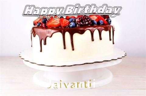 Birthday Wishes with Images of Jaivanti