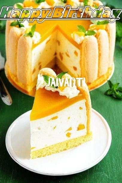 Happy Birthday Wishes for Jaivanti