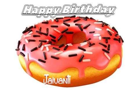 Happy Birthday to You Jaivanti