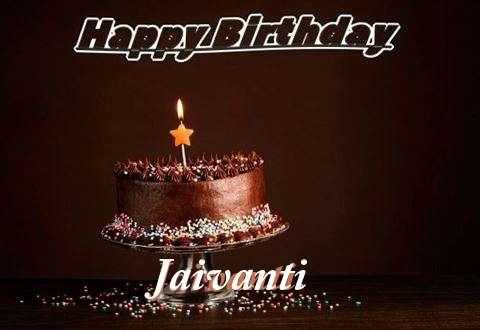 Happy Birthday Cake for Jaivanti