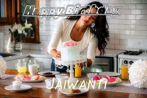 Happy Birthday Jaiwanti Cake Image