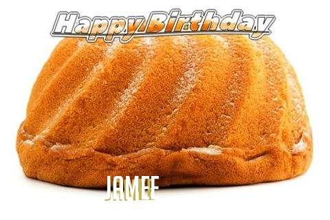Happy Birthday Jamee Cake Image