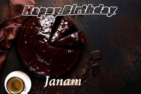 Happy Birthday Wishes for Janam