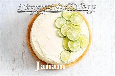 Happy Birthday to You Janam