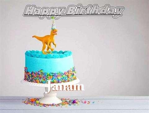 Happy Birthday Cake for Janam