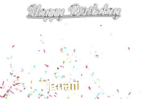 Happy Birthday to You Janani