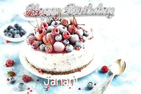 Happy Birthday Cake for Janani