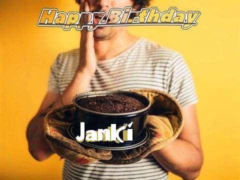 Happy Birthday Janki Cake Image