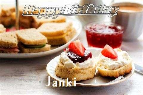Happy Birthday Cake for Janki