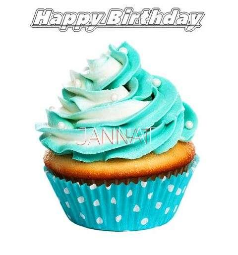 Happy Birthday Jannat Cake Image