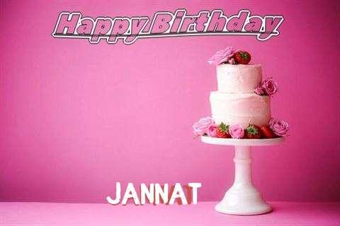 Happy Birthday Wishes for Jannat
