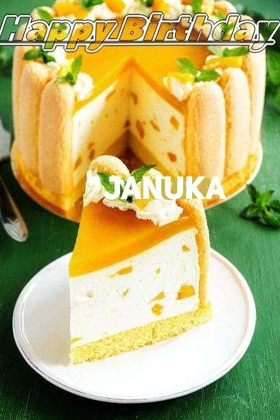 Happy Birthday Wishes for Januka