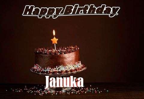 Happy Birthday Cake for Januka