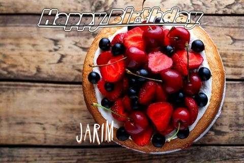 Happy Birthday Cake for Jarim