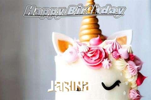 Happy Birthday Jarina Cake Image