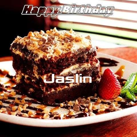 Happy Birthday Cake for Jaslin