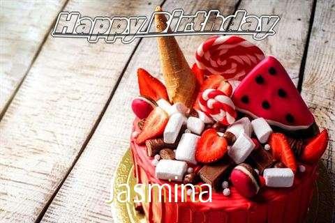 Birthday Wishes with Images of Jasmina