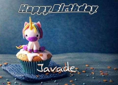 Happy Birthday Javade