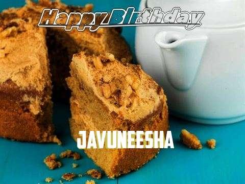 Happy Birthday Javuneesha
