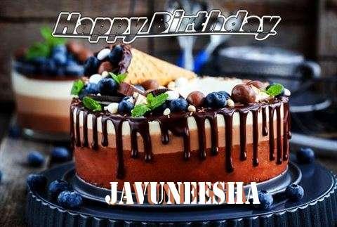 Happy Birthday Cake for Javuneesha