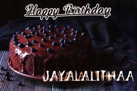 Happy Birthday Cake for Jayalalithaa