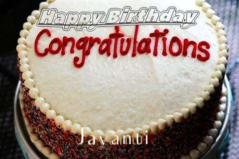 Happy Birthday Jayanti