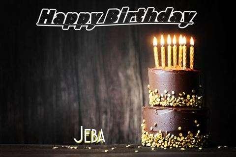 Happy Birthday Cake for Jeba
